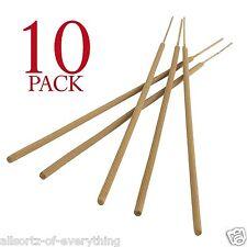 "10 x Large Citronella Garden Sticks Candles - 19"" -  3 hours burn time"