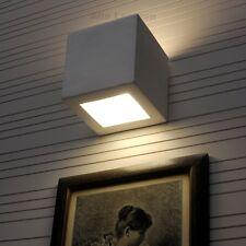 LEO Keramik Wandlampe Wandleuchte Lampe bemalbare Leuchte Flurlampe weiß SL