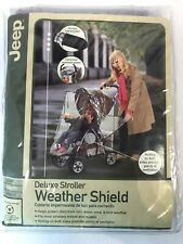 Jeep New Deluxe Stroller Weather Shield