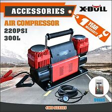 X-BULL 12v Air Compressor 4x4 Tyre Deflator Portable 300L/min 4wd Inflator