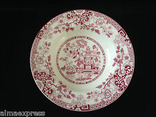 """Rare Myott Staffordshire England China RED Indiana - 8"""" COUPE SOUP BOWL"""