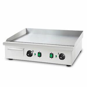 vertes 4400 W Elektro Grillplatte Glatt Grill Bratplatte Griddleplatte B-Ware