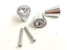 10pcs CD10 17mm cristallo sfaccettato maniglia della porta CASSETTIERA MOBILI