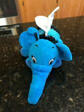 Disney Winnie The Pooh Heffalump bee elephant Blue Rare Plush stuffed animal