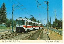 PORTLAND,OREGON BOMBARDIER BUILT RAIL CARS 1988(AV2804)