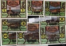 Memel, Lithuania set of: 0.10+0.50+1+2+5+10+50+100, Spec. Collector series lot