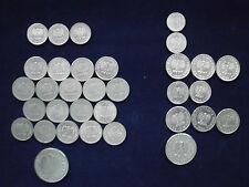 Polen Münzen Lot Sammlung Alu 1949, 1961-63 und Andere, insg. 33 St. Konvolut
