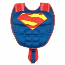 Justice League Superman 3D Muscle Swim Vest PFD M/L 20-33 lbs 50 UPF - NWT