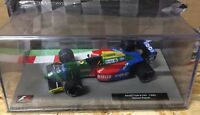 "DIE CAST "" BENETTON B190 - 1990 NELSON PIQUET "" FORMULA 1 COLLECTION 1/43"