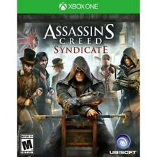 Assassin's Creed Syndicate W/Case Microsoft Xbox One 1 XB XB1 XB3 Assassins Game