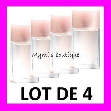 Lot of 4 bottles water de toilette SOFT MUSK new - scent butternut sensual