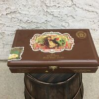 My Father Cigars The Judge TAA Exclusive Empty Wooden Cigar Box 11x6.25x2.5