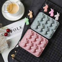 Unicorn Silicone Cake Chocolate Baking Mold Ice Cube Tray Jelly Candy Mould Tool