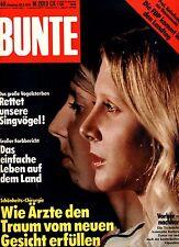 Zeitschrift BUNTE Nr 40 von 1978, Schönheits-Chirurgie; Warren Beatty; Charles