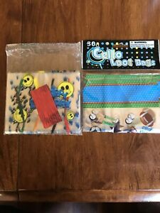Birthday Party Gift, Goody, Treat, Candy Bags - 30+15 = 45 Total