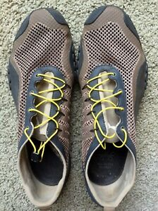 Vintage  Puma Mens Camo Mostro Perforated Leather Sneakers10 1/2, new