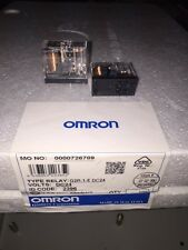 OMRON G2R-1-E RELAY 24VDC COIL16A@250VAC LOT QTY 2