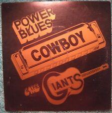 """BRIAN CAIN- Blues Harp rare 45 EP, """"Power Blues, Cowboy & the Giants"""" Perth, W.A"""