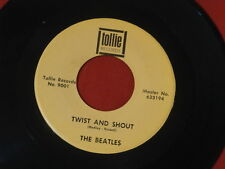 BEATLES~ TWIST AND SHOUT~ NEAR MINT~ THERE'S A PLACE~ IN BOX~ RARE~ ~ POP 45