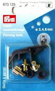 Prym Lochwerkzeuge für Vario-Zange - 3,4,8 mm - 673125