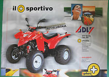 ADLY  ATV SPORTY 150 300 DEPLIANT  BROCHURE PUBBLICITÀ  RECLAME PROSPEKT