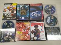 Playstation Game Bundle lot of 10  PS1 and PS2 XMen Dragonball Z Gran Turismo