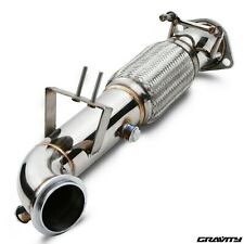 """3"""" STAINLESS RACE EXHAUST DE CAT DECAT PIPE FOR FORD FOCUS ST250 ST 250 ST2 ST3"""