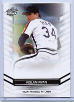 NOLAN RYAN 2016 LEAF DRAFT EXCLUSIVE CARD #21 W/H TOP LOADER! HOUSTON ASTROS!