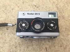 Rollei 35 S (35S) - 35mm Camera - 2.8 Sonnar Lens - Sold As-Is