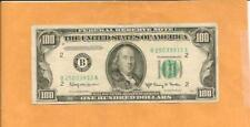 1950E  $100  B 2503 3933 A ... 1950E $100 .. NICE STARTER NOTE, WORTH $650 IF CU