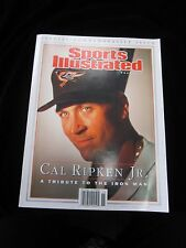 Sports Illustrated Tribute Cal Ripken, Jr. Special Commemorative Issue  10/3/01
