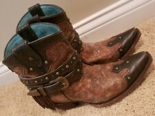 Gorgeous Corral Booties from THE BUCKLE Sz 8.5