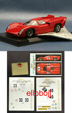 FLY* 1/32 C35 rare LOLA T70  2 decals version + other Head Pilot