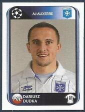 PANINI UEFA CHAMPIONS LEAGUE 2010-11- #471-AUXERRE & POLAND-DARIUSZ DUDKA