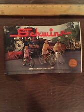 New listing Vintage Scwinn Bicycle Catalog 75th Anniversary