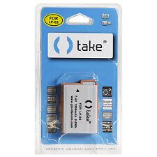 Take® Batteria al Litio 1300mah per Canon Eos LP-E8 550D 600D 650D 700D