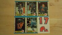 QUEBEC NORDIQUES ~ 1989-90 Topps TEAM SET ~ 6 Hockey Cards ~ SAKIC ROOKIE RC
