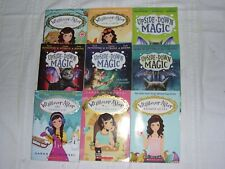LOT OF 9 CHILDREN'S BOOKS BY SARAH MLYNOWSKI~ WHATEVER AFTER & UPSIDE-DOWN MAGIC