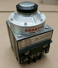 Tyco Agastat 2412-AC Adjustable Timing Relay 120V Coil - Range 0.8-15 Seconds