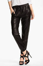 New Women's Genuine 100% Lambskin Leather Skinny Stylish Ladies Pant # 004
