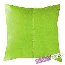 """Lime Water Resistant Garden Outdoor 18"""" Filled Scatter Chair Cushion Furniture"""