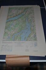 1940's Army (like USGS) Topo map Allyn Washington Sheet 1478 IV