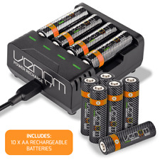 Venom Intelligent Charging Station plus 10 x AA 1000mAh Rechargeable Batteries