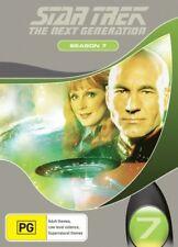 STAR TREK THE NEXT GENERATION: SEASON 7 = TV Series = NEW DVD R4