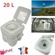20L Toilettes chimiques Portable pour Camping et Caravanes Voyage Motor home WC
