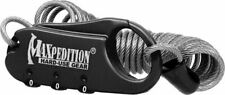 New Maxpedition Steel Cable Lock MXCABLOCB