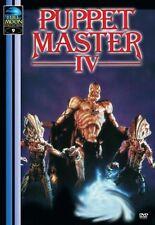 DVD   Puppet Master 4   Puppet Masters IV   Die Mörderpuppen   Neu!