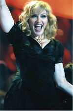 MADONNA PHOTO UNRELEASED UNIQUE IMAGE LIVE EARTH LONDON 9 INCH RARE 2007 GEM