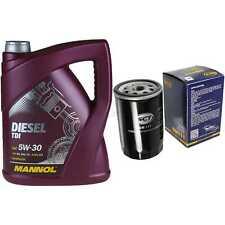 Ölwechsel Set 5L MANNOL Diesel TDI 5W-30 + SCT Ölfilter Service 10164141