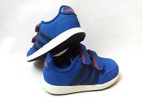 Adidas VS SWITCH 2  CMF Kinder Schuhe mit Klettverschluß Turnschuhe Gr. 24 blau